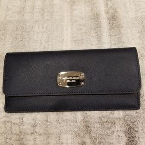 Michael Kors Navy Blue Wallet